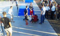 Accidentare oribilă la un concurs de skateboarding, în Parcul Viva (foto)