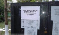 """Dilemă la Școala """"Mihai Viteazul"""" Galați: after Scool sau after Skol?"""