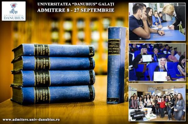 """Vrei să urmezi o carieră în Drept? Opțiune sigură: Universitatea """"Danubius"""" din Galați! (P)"""