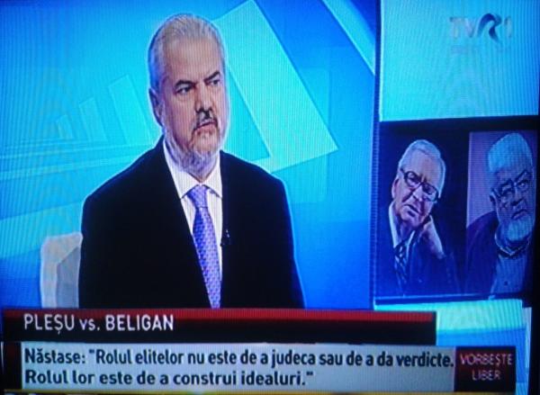 """Infractorul Adrian Năstase, invitat să vorbească despre """"elite"""", în direct la TVR"""