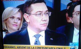"""Nu-i banc. Gâdea către Ponta: """"D-le președinte, cînd ați plîns ultima oară?"""""""