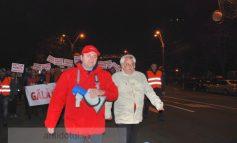 Miting PSD Galați. Gibonii pesediști au urlat și au stresat lumea inutil (foto)