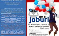 Tîrg de Joburi pentru studenții și absolvenții din județele Galați și Brăila