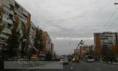 Țăranii de la Luxten au ocupat str. Brăilei (foto)