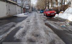 Strada care nu știe cum arată un utilaj de deszăpezire (foto)