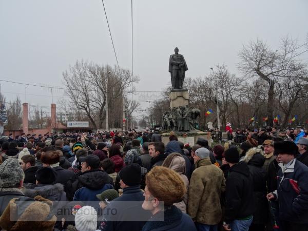 Primarul Stan și pesediștii din Galați i-au dat cu flit domnitorului Cuza (foto)