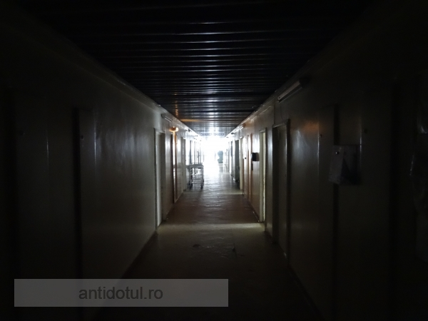 Poză horror de pe holurile Spitalului de Urgență Galați