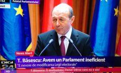 """La congresul PMP Traian Băsescu a repetat de trei ori: """"Mă lepăd de Elena!"""""""