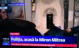 Circ mediatic grețos în fața locuinței condamnatului Miron Mitrea