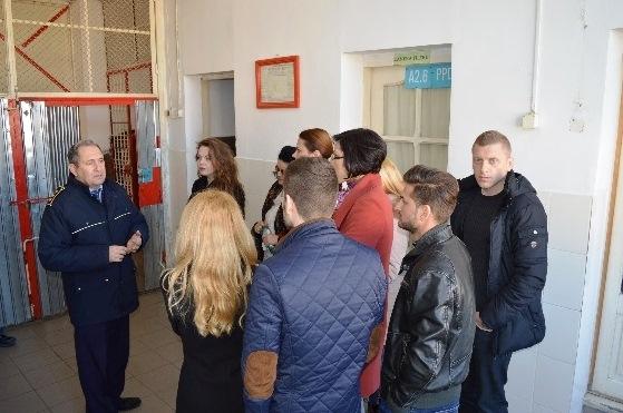 Vizita la Penitenciarul Brăila, puternic impact emoțional pentru studenții de la Drept