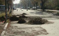 Din lipsă de asfalt, pe strada Stadionului ar putea să apară ghiocei