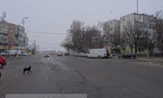 Ninge în martie, în Galați. Mulți șoferi au trecut deja la cauciucurile de vară