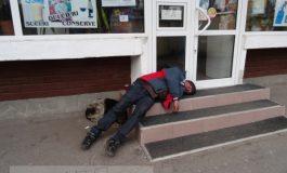 Gălățean căzut la datorie, de atîta muncă (foto)