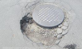 La Galați, de prea multă anticorupție a crăpat asfaltul!