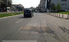 Apă Canal, extrem de consecventă în ciuruirea străzilor din Galați