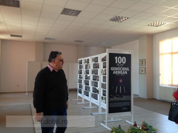 Armenii gălățeni au comemorat azi, în sediul recent renovat, un secol de la genocidul din 1915