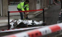 Filmul morții gălățeanului prins de nevastă cu amanta într-un hotel din București