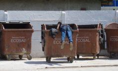 Salt perfect înainte echer executat într-o pubelă Ecosal (foto)