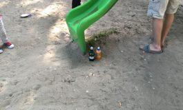 Răsplata de la capătul topoganului: un suc acidulat pentru piticu și-o bere la pet pentru tăticu