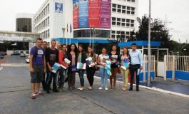 """Studenți din Basarabia în vizită la Universitatea """"Danubius"""""""