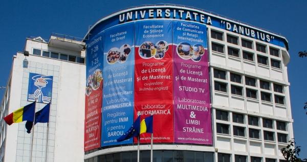 """Locuri fără taxă la Universitatea """"Danubius""""! Prima sesiune de înscriere – până pe 28 iulie"""