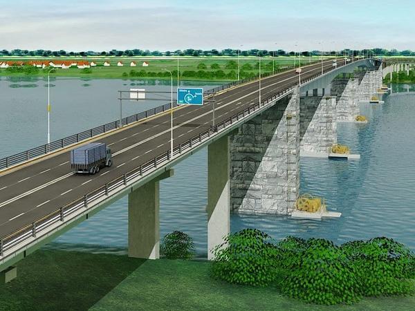 Brăilenii au umor: ieri au început măsurătorile pentru podul peste Dunăre