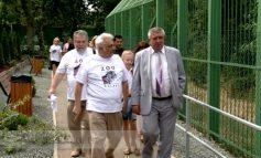 La inaugurarea zoo Galați, maimuțele s-au plimbat pe alei