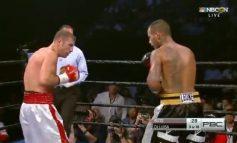 """""""Marea"""" revenire a lui Bute: boxerul din Pechea a bătut un bibliotecar tatuat"""