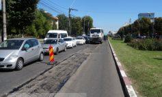 """Str. Brăilei - în reparaţii, la doi ani de la modernizarea cu """"asfalt de autostradă"""""""