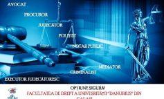 Au început înscrierile la Facultatea de Drept a Universităţii Danubius (P)