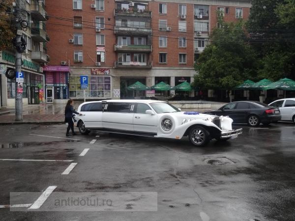 Rupţi în cur, dar cu limuzină la nuntă