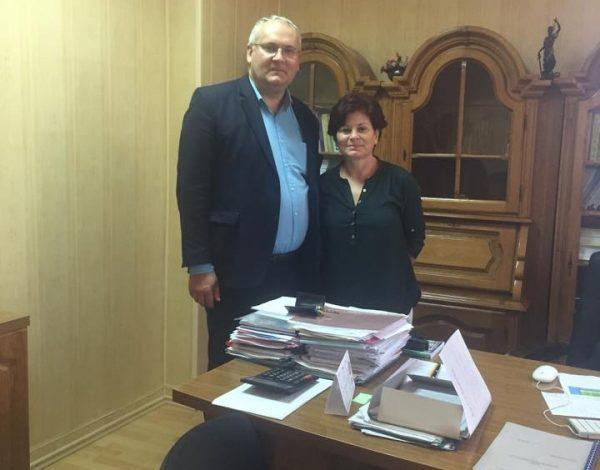 """Un profesor din Letonia a făcut training la Universitatea """"Danubius"""" din Galați"""