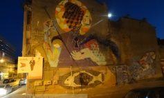 Misterul desenului apărut peste noapte pe imobilul din str. Bălcescu nr. 17 (foto)
