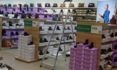 În interiorul Shopping City Galați plouă ca-n grajd (foto)