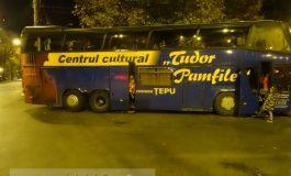 Brigada culturală a comunei Țepu are autocar de Champions League (foto)