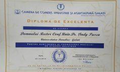 Universitatea Danubius, în topul firmelor gălăţene organizat de Camera de Comerţ