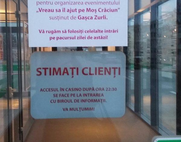 La pseudo-mall-ul de pe G.Coșbuc, gălățenii l-au înjurat cu năduf pe Moș Crăciun