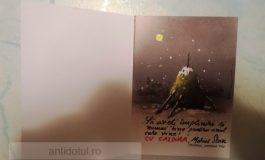 Mesajul cinic al primarului Stan pentru gălățeni, băgat în cutiile poștale (foto)