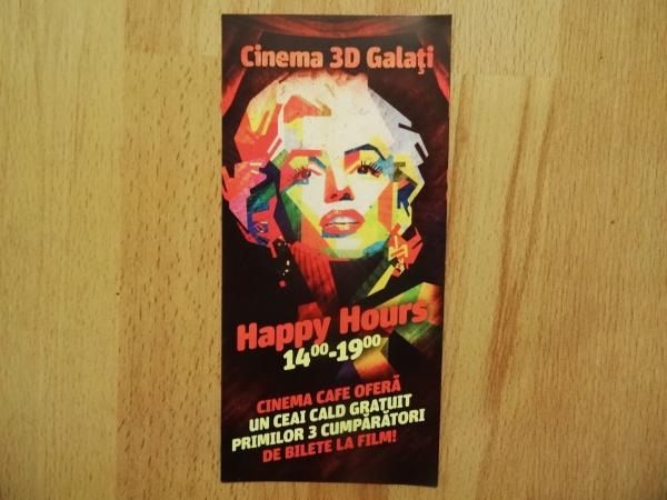 Premiile jenante cu care Cinema 3D Galați încearcă să atragă clienți