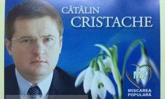L-am găsit pe Cristache, stînd în poziția ghiocel, în cutia mea poștală