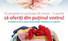 Donaţii pentru copiii din orfelinate, la Danubius