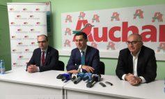 Hypermarketul Auchan, pe post de agent electoral pentru Marius Stan