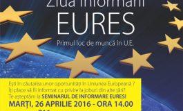 Primul loc de muncă în U.E: seminar de informare Eures la Danubius