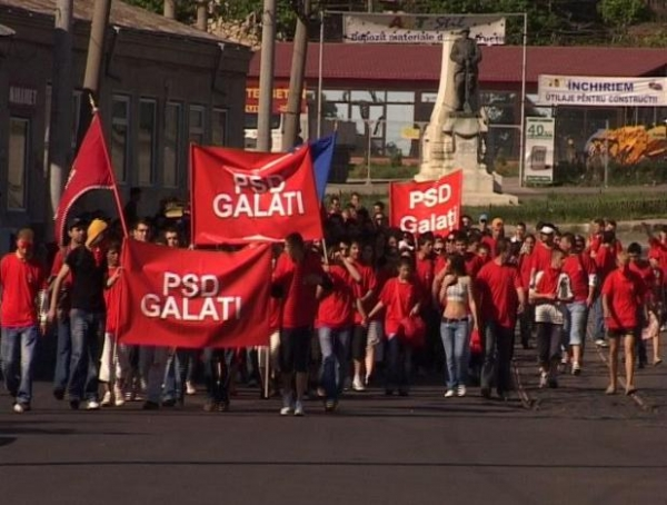Back to future, varianta de Covurlui: PSD Galați ne-a adus aminte că prin anii 90 a existat un FSN