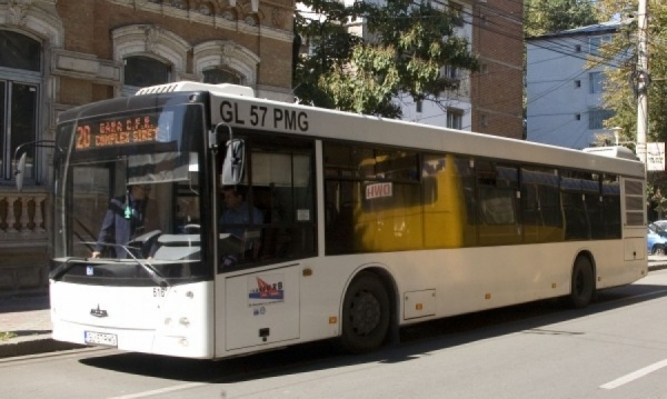 Se împute treaba în Galați: din iulie vor fi mai puține autobuze pe traseele urbane