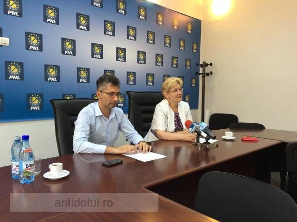 Nicușor Ciumacenco și Tania Bogdan vor să ne convingă că fac opoziție