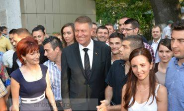 Turneul electoral al lui Iohannis trece prin Galați