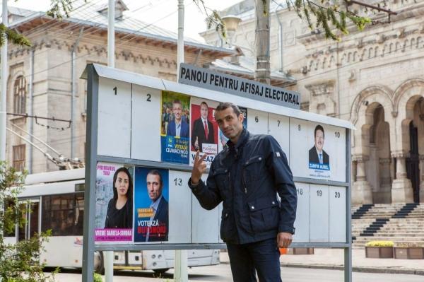 """Lepra politică Dorin Butunoiu și sloganul """"Hotărît să le stric jocurile!"""""""