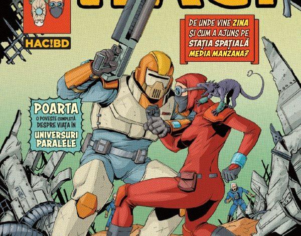 HAC! devine revistă lunară de bandă desenată 100% românească