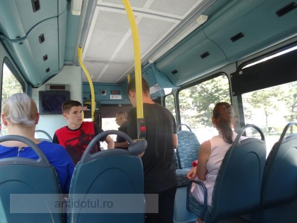 Transurb a montat aer condiționat pe două autobuze